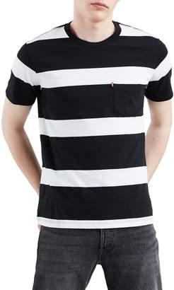 Levi's Striped Cotton Tee