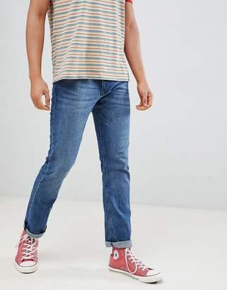 Esprit Straight Fit Blue Jean In Organic Cotton