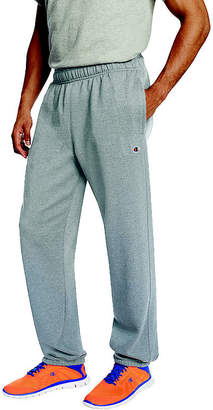 Champion Powerblend Fleece Open-Bottom Pants