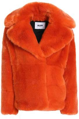 MSGM Faux Fur Coat