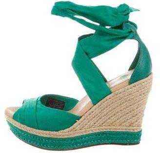 UGG Australia Canvas Espadrille Sandals $90 thestylecure.com