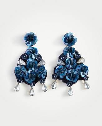 Ann Taylor Crochet Earrings