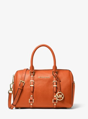 MICHAEL Michael Kors Bedford Legacy Medium Pebbled Leather Duffel Satchel