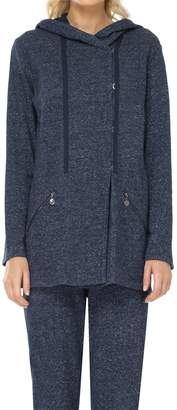 Max Studio French Terry Oversized Hoodie