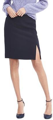 Side Slit Pencil Skirt $78 thestylecure.com