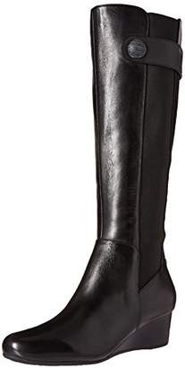 Rockport Women's Total Motion Wedge Stone Riding Boot