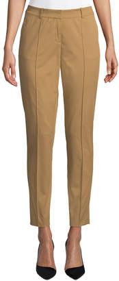Lafayette 148 New York Bayard Slit-Cuff Slim Pants
