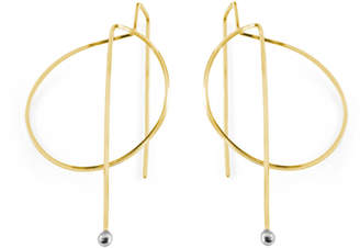 Gabriela Jewelry Contour Luna Llena Earrings