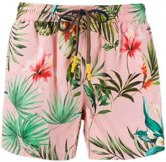 Entre Amis floral swimming trunks