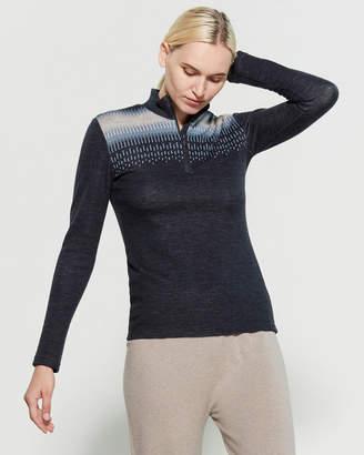 We Norwegians Suldal Half-Zip Merino Wool Sweater