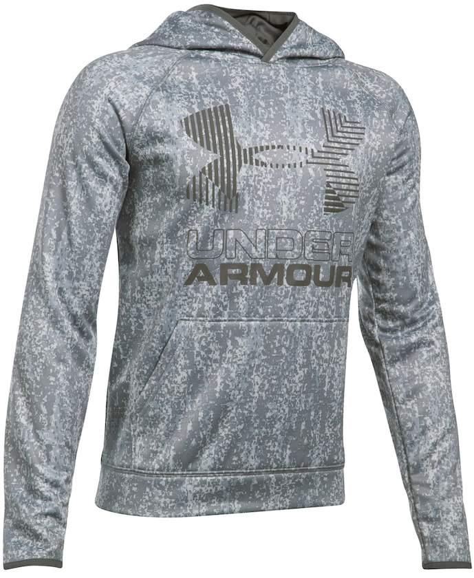 Under Armour Boys 8-20 Under Armour Big Logo Fleece Pull-Over Hoodie