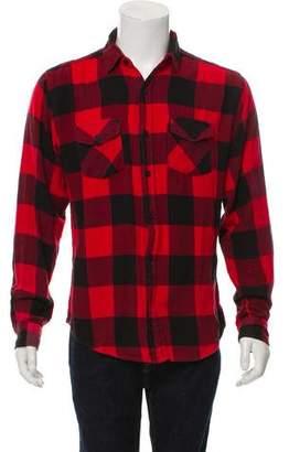 Anti SocialSocial Club 2016 No Expectations Flannel Shirt
