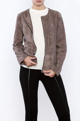 Kut from the Kloth Buff Suedette Jacket $116.95 thestylecure.com