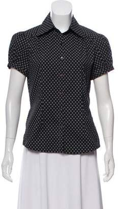 Façonnable Printed Short Sleeve Top