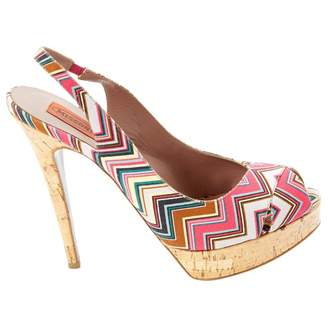 Missoni Multicolour Cloth Heels