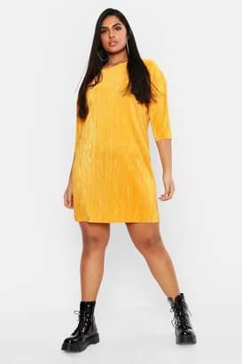 26f23d41d6de boohoo Yellow Shift Dresses - ShopStyle Canada