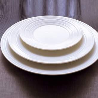 """Jasper Conran Wedgwood White 11"""" Swirl Plate"""