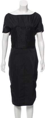 Nina Ricci Short Sleeve Midi Dress w/ Tags