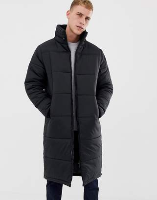 Another Influence Longline Quilted Jacket