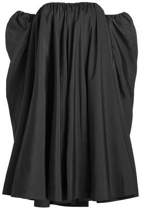 Calvin Klein Off The Shoulder Dress with Silk