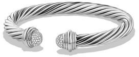 David Yurman Cable Classics Bracelet with Diamonds $1,450 thestylecure.com