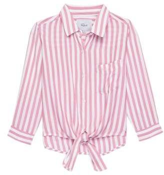 Rails Valerie Stripe Tie Front Shirt