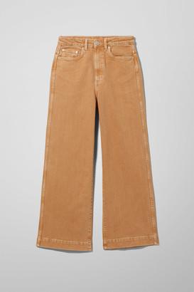 Weekday Veer Camel Jeans - Beige