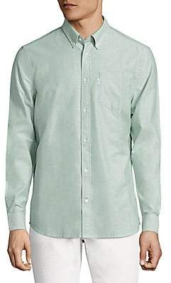 Wesc Men's Oden Soft Oxford Button-Down Shirt