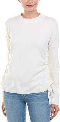 Derek Lam 10 Crosby Cinched Cashmere Sweater