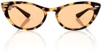 Ray-Ban Nina X cat-eye acetate sunglasses