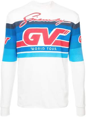 Givenchy GV Motocross long sleeve top