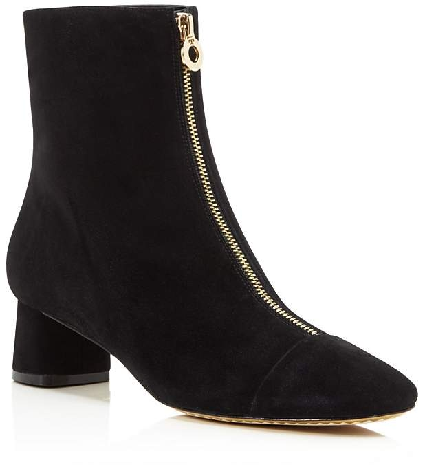 Tory Burch Women's Caterina Suede Zip Booties - 100% Exclusive