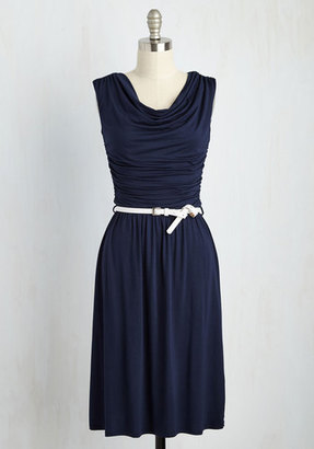 Gilli Inc Bayside Vacay Jersey Dress in Navy $64.99 thestylecure.com