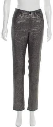 Isabel Marant Mid-Rise Metallic Pants