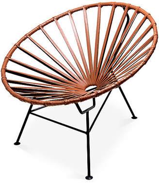 Mexa Sayulita Lounge Chair - Camel Leather