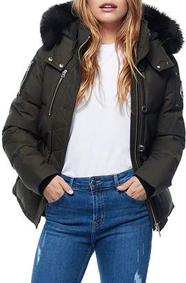 Moose Knuckles 3Q Fur-Trim Down Coat