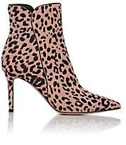 Gianvito Rossi Women's Leopard-Print Calf Hair Boots-Pink