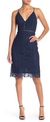 ASTR the Label Lace V-Neck Dress