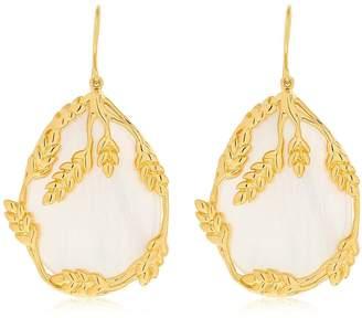 Aurelie Bidermann Francoise Nacre Pendants Earrings