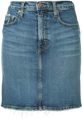 Nobody Denim Siren denim skirt