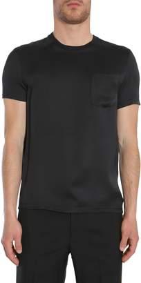 Alexander McQueen Silk T-shirt