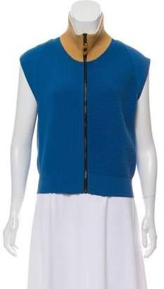 Louis Vuitton Rib Knit Colorblock Vest