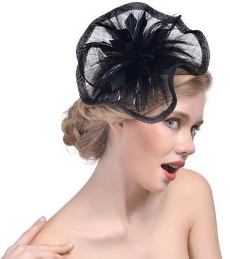 2f200a4261276 30th floor Fascinator Hats Wedding Hats Pillbox Hat