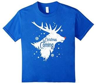 Merry Christmas Reindeer Shirt Christmas Is Coming Xmas Gift
