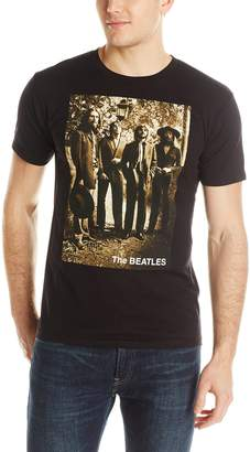 Bravado Men's The Beatles Sepia 1969 T-Shirt