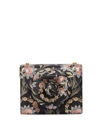 Oscar de la Renta Baby Tro Floral Top-Handle Bag