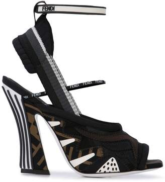 Fendi FFreedom technical mesh sandals