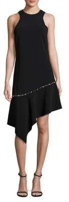 Jonathan Simkhai Beaded Asymmetrical Dress