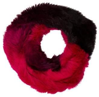 Pologeorgis Rabbit Fur Infinity Scarf