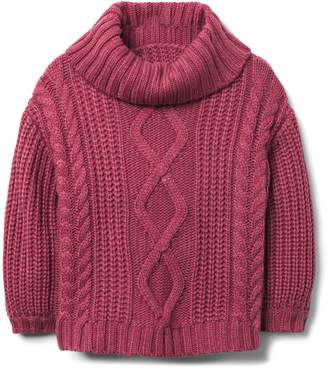 Crazy 8 Crazy8 Toddler Cable Turtleneck Sweater